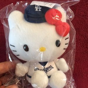 Other - Stuffed Dodger Hello Kitty